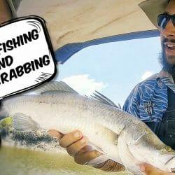 Crabbing in Darwin and Barramundi Fishing